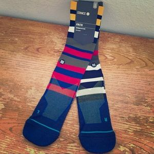 🔥NEW Stance Athletic Fusion Socks L-XL NWT🔥